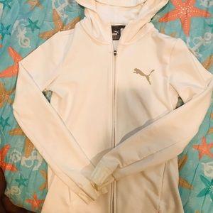 White Puma sport jacket